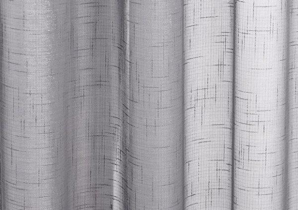 Grey Marrakesh voile panel close
