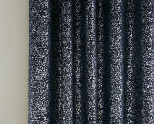 HALO CHARCOAL CURTAIN CLOSE UP