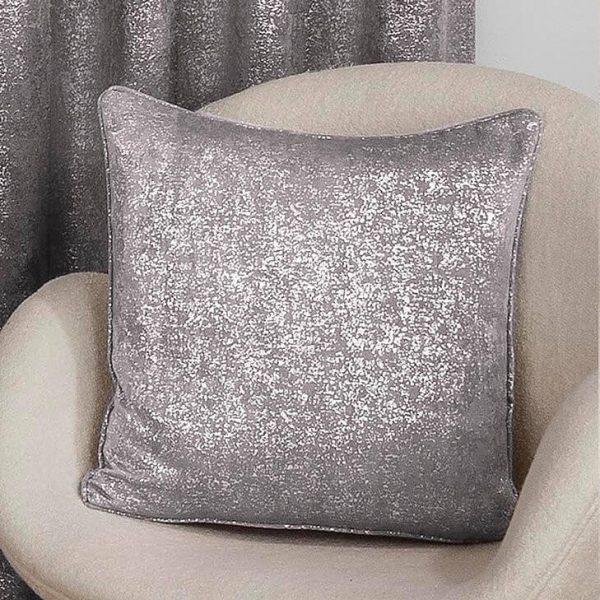 Halo Cushion Cover Silver