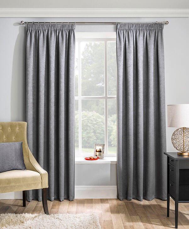 Matrix Curtains Silver