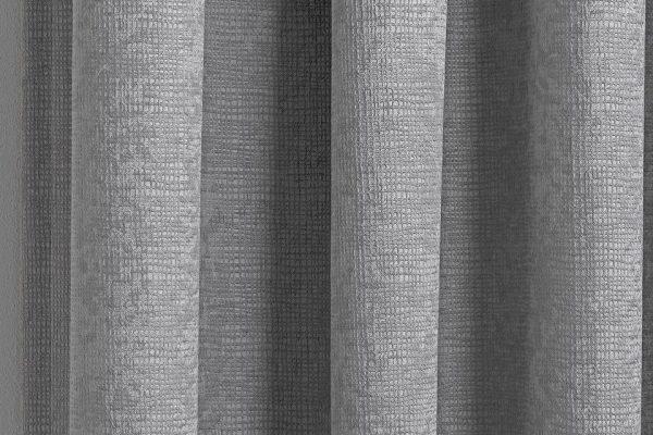 Matrix curtain Silver close-up