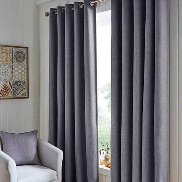 curtains hugo grey