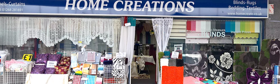 Home Creations - Curtains, Nets, Voiles and Blinds