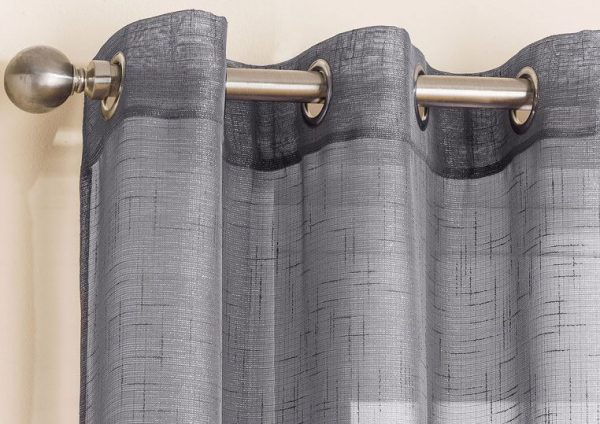 Grey Marrakesh voile panel header